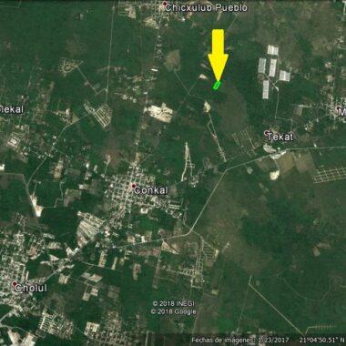 Terreno de 2.6 héctareas en Conkal.(YA)