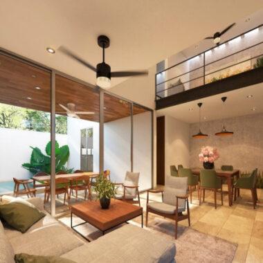 El origen residencial, casas en venta en Xcanatún (YA)